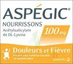 ASPEGIC NOURRISSONS 100 mg, poudre pour solution buvable en sachet-dose à Bergerac