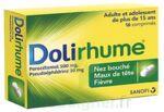 DOLIRHUME PARACETAMOL ET PSEUDOEPHEDRINE 500 mg/30 mg, comprimé à Bergerac