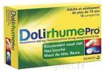 DOLIRHUMEPRO PARACETAMOL, PSEUDOEPHEDRINE ET DOXYLAMINE, comprimé à Bergerac