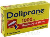DOLIPRANE 1000 mg Suppositoires adulte 2Plq/4 (8) à Bergerac