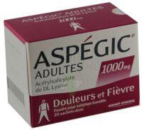 Aspegic Adultes 1000 Mg, Poudre Pour Solution Buvable En Sachet-dose 15 à Bergerac