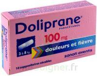 Doliprane 100 Mg Suppositoires Sécables 2plq/5 (10) à Bergerac