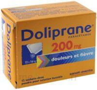Doliprane 200 Mg Poudre Pour Solution Buvable En Sachet-dose B/12 à Bergerac