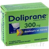 Doliprane 300 Mg Poudre Pour Solution Buvable En Sachet-dose B/12 à Bergerac