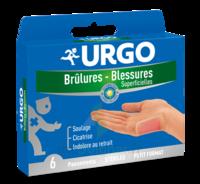 URGO BRULURES-BLESSURES PETIT FORMAT x 6 à Bergerac
