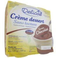 Delical Creme Dessert Hp Hc Sans Lactose, Pot 200 G X 4 à Bergerac