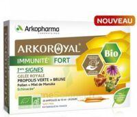 Arkoroyal Immunité Fort Solution Buvable 20 Ampoules/10ml à Bergerac