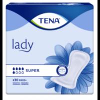 Tena Lady Protection Anatomique Adhésive Super Sachet/30 à Bergerac