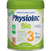 Physiolac Bio Lait 3éme Age 800g à Bergerac