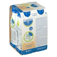 Fresubin Db Drink Nutriment Pêche Abricot 4 Bouteilles/200ml à Bergerac