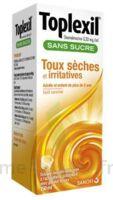 Toplexil 0,33 Mg/ml Sans Sucre Solution Buvable 150ml à Bergerac