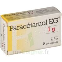 PARACETAMOL EG 1 g, comprimé à Bergerac