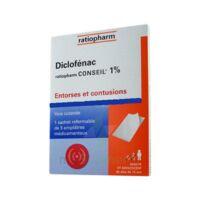 Diclofenac Ratiopharm Conseil 1 %, Emplâtre Médicamenteux à Bergerac