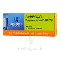 Ambroxol Biogaran Conseil 30 Mg, Comprimé Sécable à Bergerac