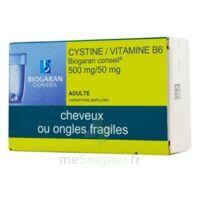 Cystine/vitamine B6 Biogaran Conseil 500 Mg/50 Mg Cpr Pell Plq/120 à Bergerac