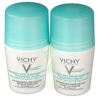 VICHY TRAITEMENT ANTITRANSPIRANT BILLE 48H, fl 50 ml, lot 2 à Bergerac