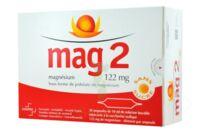 MAG 2 SANS SUCRE 122 mg, solution buvable en ampoule édulcoré à la saccharine sodique à Bergerac