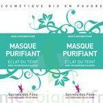 Secrets des Fées Masque Purifiant Eclat du Teint à Bergerac