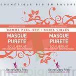 Secrets des Fées Masque Pureté Equilibrant Peel-Off à Bergerac