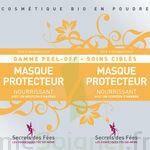 Secrets des Fées Masque Protecteur Nourrissant Peel-Off à Bergerac