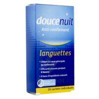 DOUCENUIT ANTIRONFLEMENT LANGUETTES, sachet 28 à Bergerac