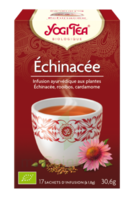Yogi Tea Tisane AyurvÉdique Echinacea Bio 17sach/1,8g à Bergerac