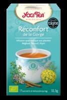 Yogi Tea Tisane Ayurvédique Réconfort De La Gorge Bio 17 Sachets/1,8g à Bergerac