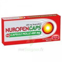 Nurofencaps 400 Mg Caps Molle Plq/10 à Bergerac