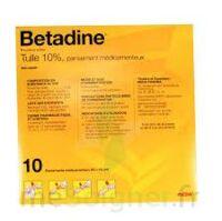 BETADINE TULLE 10 POUR CENT, pansement médicamenteux à Bergerac