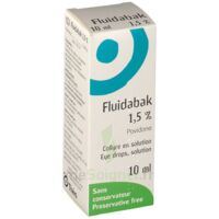 FLUIDABAK 1,5 %, collyre en solution à Bergerac