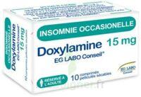 DOXYLAMINE EG LABO CONSEIL 15 mg, comprimé pelliculé sécable à Bergerac
