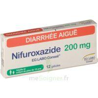 NIFUROXAZIDE EG LABO CONSEIL 200 mg, gélule à Bergerac