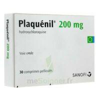 PLAQUENIL 200 mg, comprimé pelliculé à Bergerac