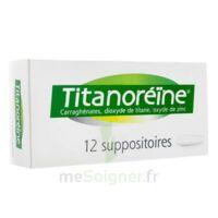 Titanoreine Suppositoires B/12 à Bergerac