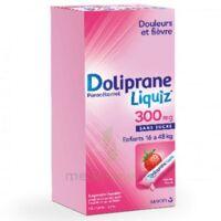 Dolipraneliquiz 300 Mg Suspension Buvable En Sachet Sans Sucre édulcorée Au Maltitol Liquide Et Au Sorbitol B/12 à Bergerac