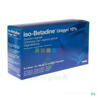 Betadine 10 %, Solution Vaginale En Récipient Unidose à Bergerac