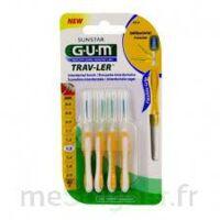 Gum Trav - Ler, 1,3 Mm, Manche Jaune , Blister 4 à Bergerac