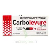 CARBOLEVURE Gélules adulte Plq/30 à Bergerac