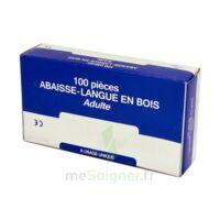 Cooper Abaisse-langue Bois Adulte B/100 à Bergerac