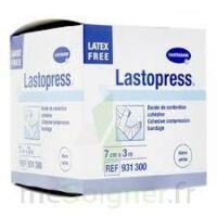Lastopress® Bande De Compression Cohésive 7 Cm X 3 Mètres - Coloris Blanc à Bergerac