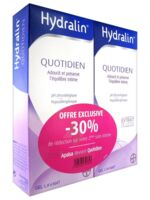 Hydralin Quotidien Gel Lavant Usage Intime 2*200ml à Bergerac