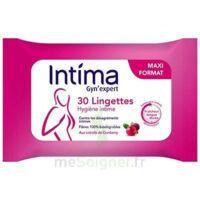Intima Gyn'expert Lingettes Cranberry Paquet/30 à Bergerac
