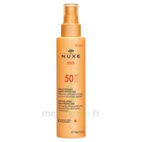 Spray Solaire Visage Et Corps Haute Protection Spf 50 Nuxe Sun150ml à Bergerac