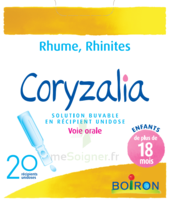 Boiron Coryzalia Solution Buvable Unidose B/20 à Bergerac