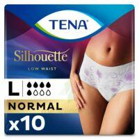 Tena Lady Silhouette Slip Absorbant Blanc Normal Large Paquet/10 à Bergerac