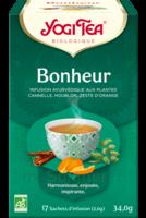 Yogi Tea Tisane Ayurvédique Bonheur Bio 17 Sachets/1,8g à Bergerac
