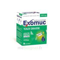Exomuc 200 Mg, Granulés Pour Usage Oral En Sachet 15 Sachets/2g à Bergerac