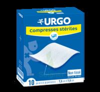 Urgo Compresse Stérile Non Tissée 10x10cm 10 Sachets/2 à Bergerac